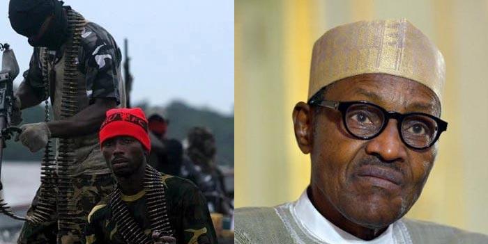 Please stop bombing pipelines - Buhari begs militants