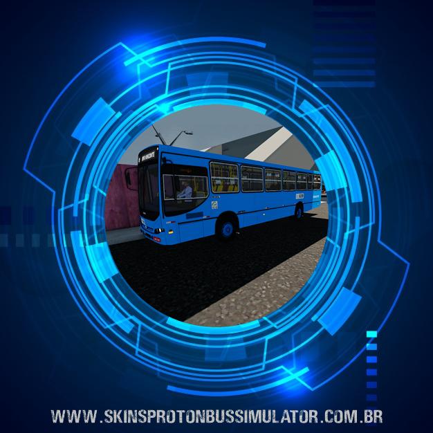Skin Proton Bus Simulator - Apache S21 MB OF-1721 Euro II Taguatur