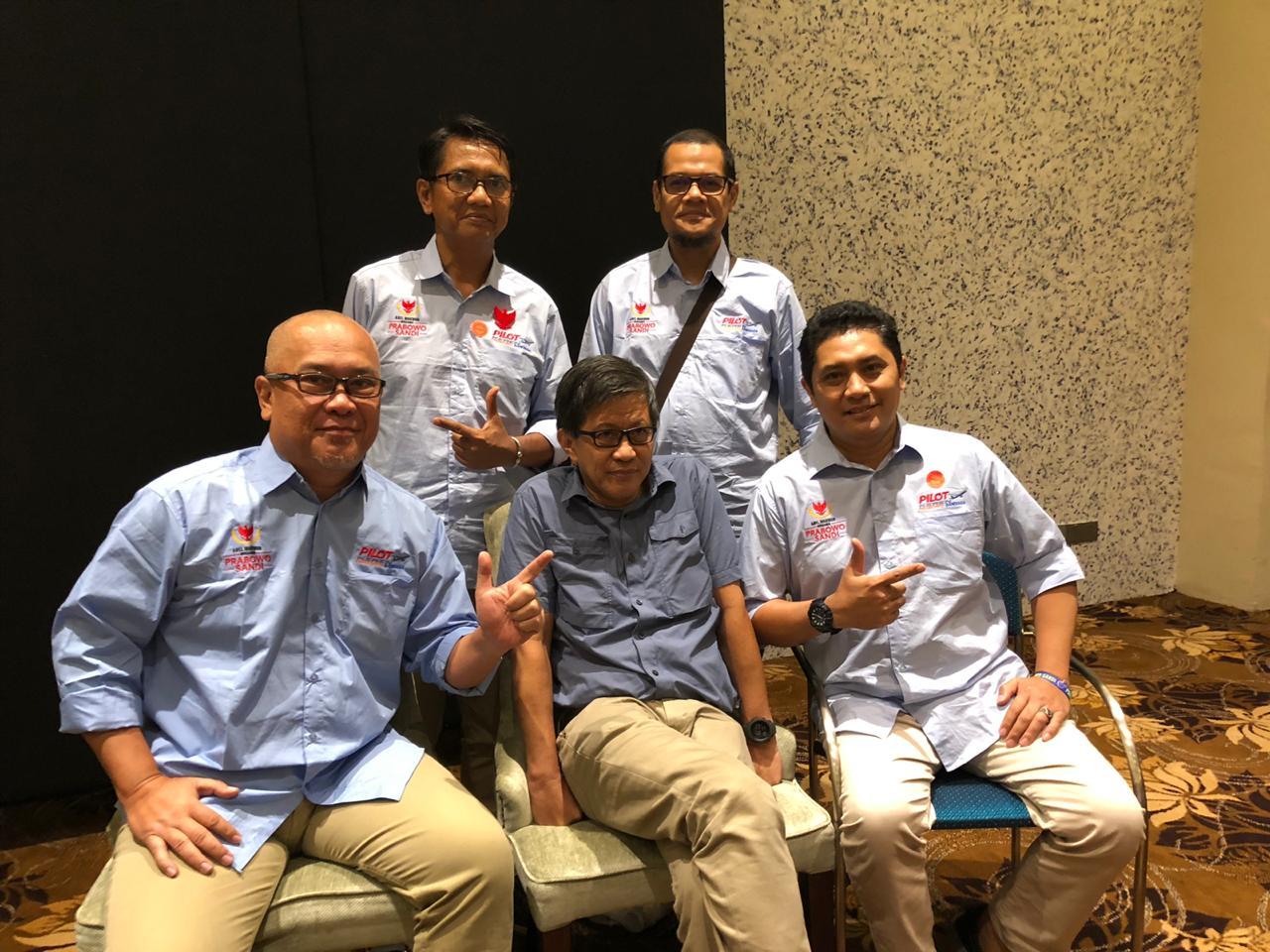 Relawan Prabowo-Sandi Hadirkan Rocky Gerung di Malaysia