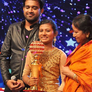 Anjana is the title winner of  Amrita TV Super Star Junior 2016