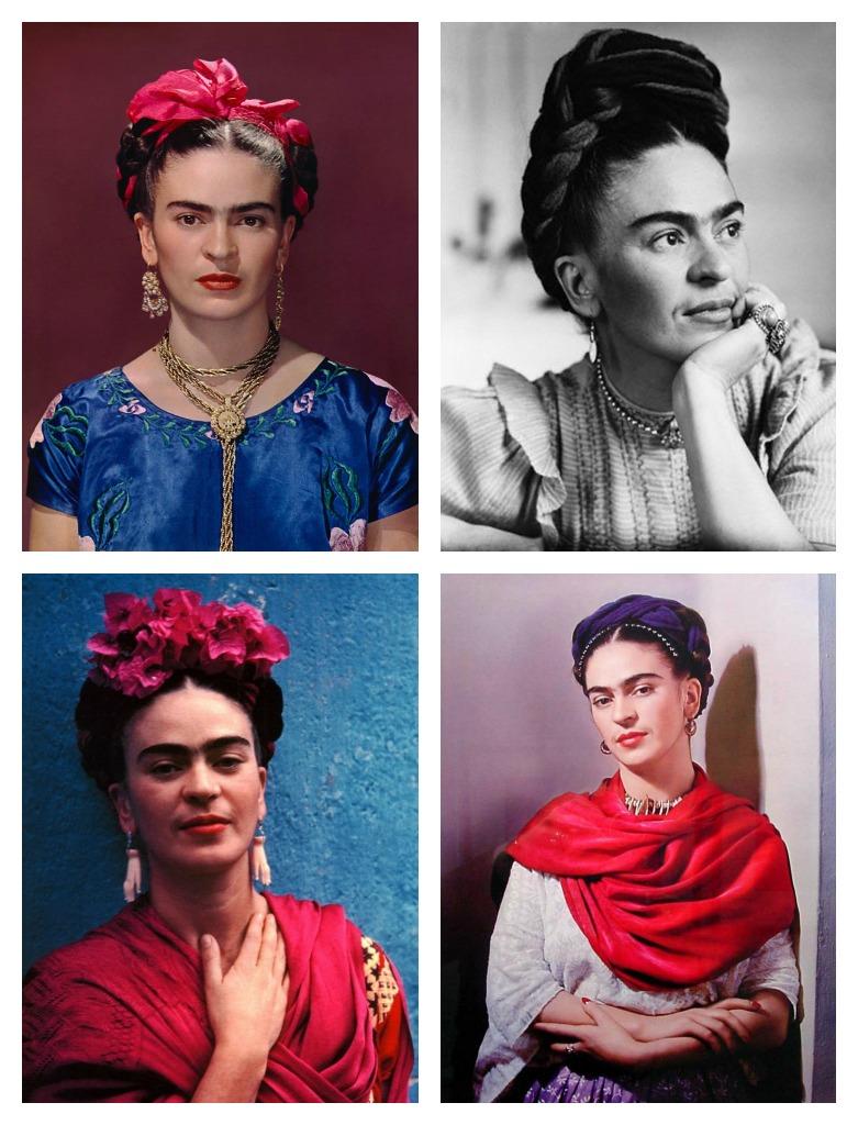 BEAUTY Frida Kahlo's Braided Hair
