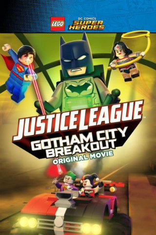 Justice League – Gotham City Breakout [2016] [DVDR] [NTSC] [Latino]