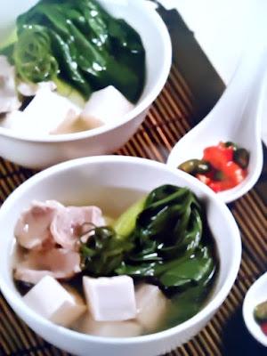 Gambar Resep Soup Tahu Bakso Sehat Dan Lezat