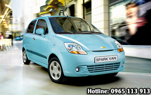 Spark Van – Xanh Ngọc hai phong