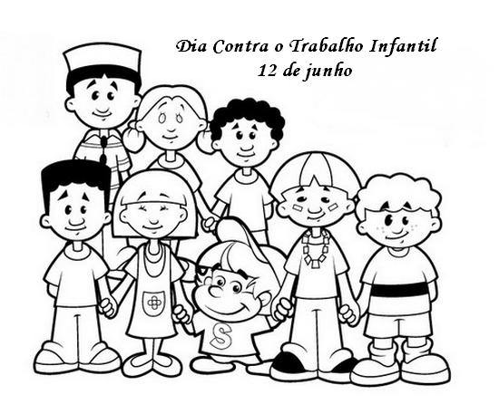 Dia Mundial Contra O Trabalho Infantil Atividades Exercicios E