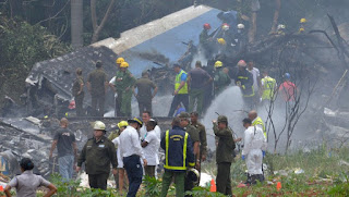 crash of a Boeing 737 outside Havana