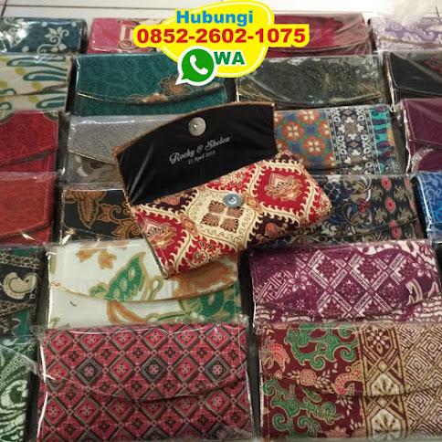 souvenir dompet hp batik 51793