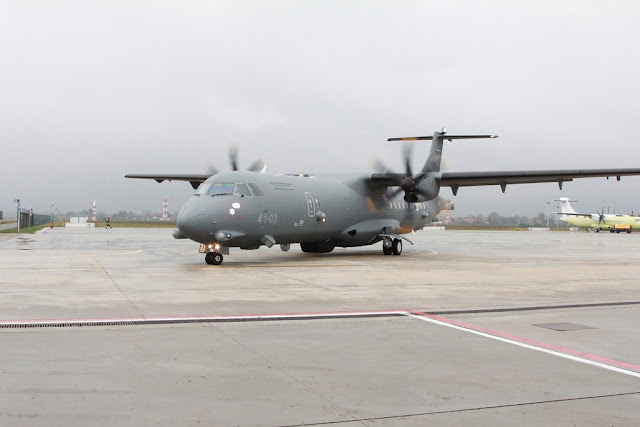 ITALIAN AIR FORCE RECEIVES FIRST TWO P72A
