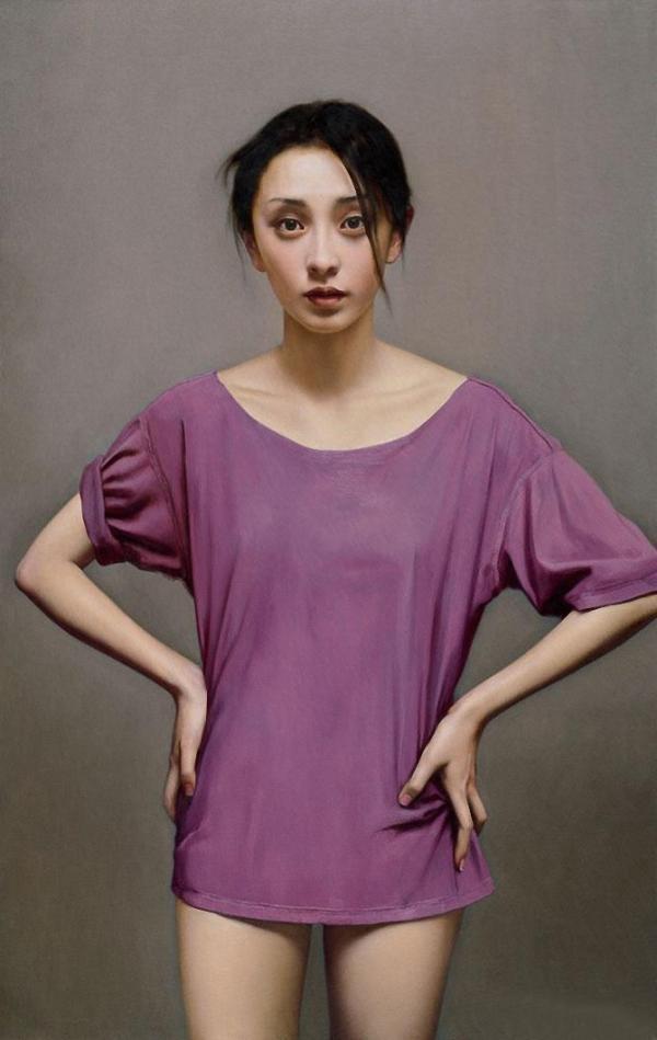 ~ Li Guijun ~ | Women, Tank top fashion, Asian woman