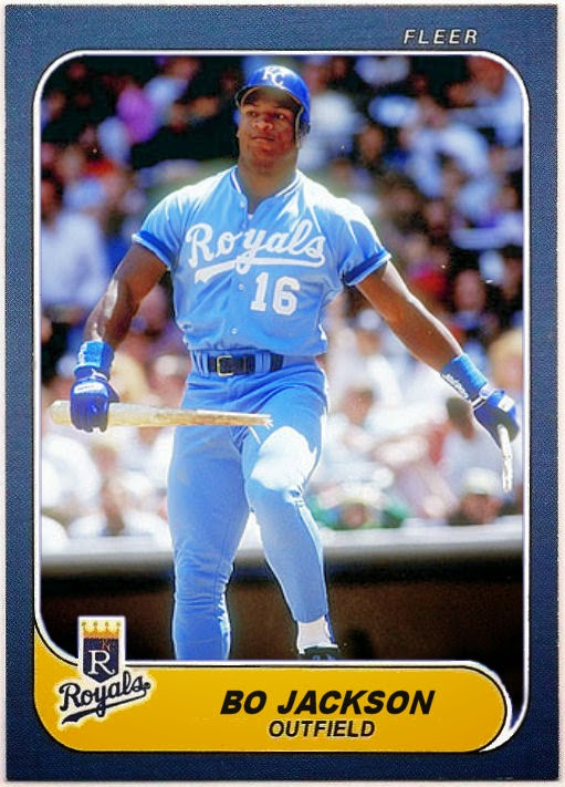 Cards That Never Were 1986 Fleer Bo Jackson