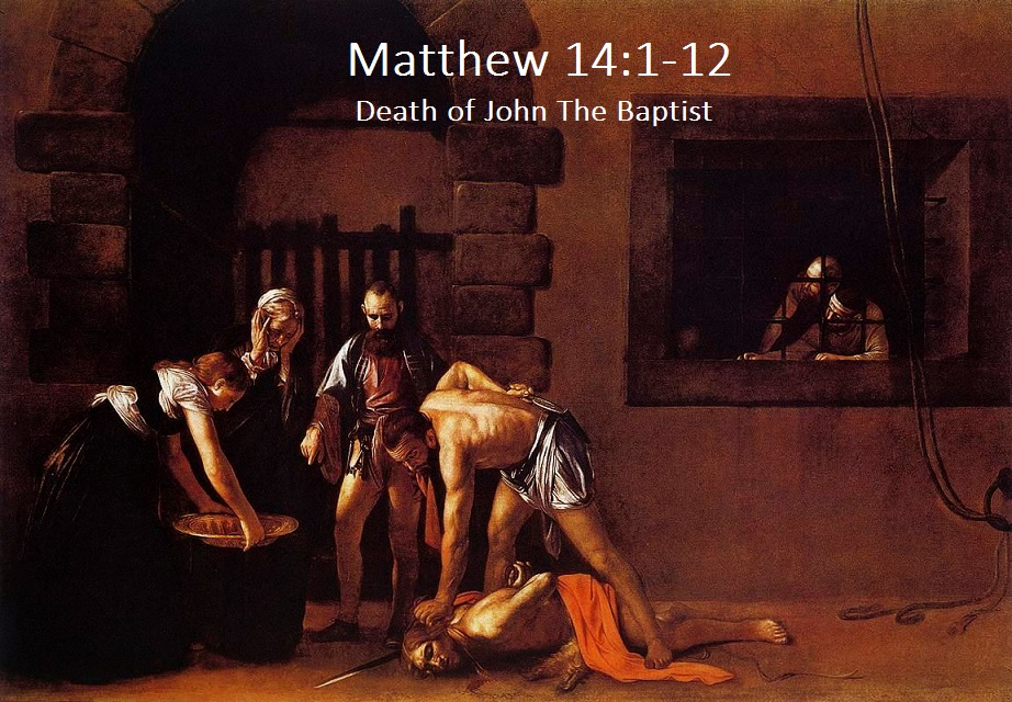 a research on the death of john the baptist At the request of herod's step-daughter, john the baptist was beheaded when john's cousin jesus heard the news, it hit him as hard as it would any of us.