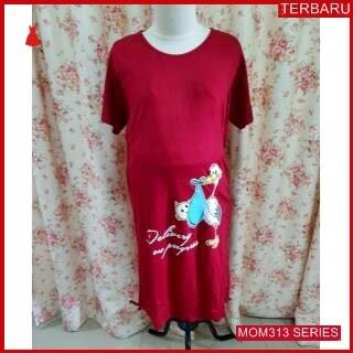 MOM313D17 Dress Hamil Menyusui Jumbo Baby Dresshamil Ibu Hamil