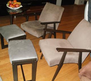 podnóżki do fotela jak odnowić