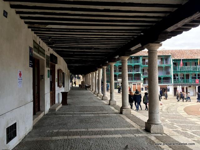 portales plaza chinchon