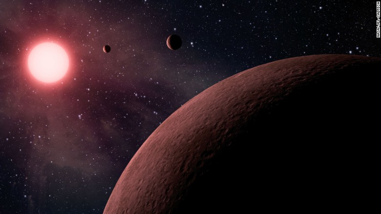 10 Earth-like planets discovered by NASA'S Kepler telescope