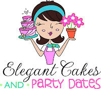 Logo Elegant Cakes and Party Dates