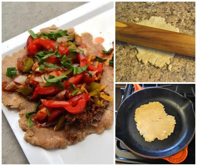 Vegetarian Tostadas with Homemade Tortillas