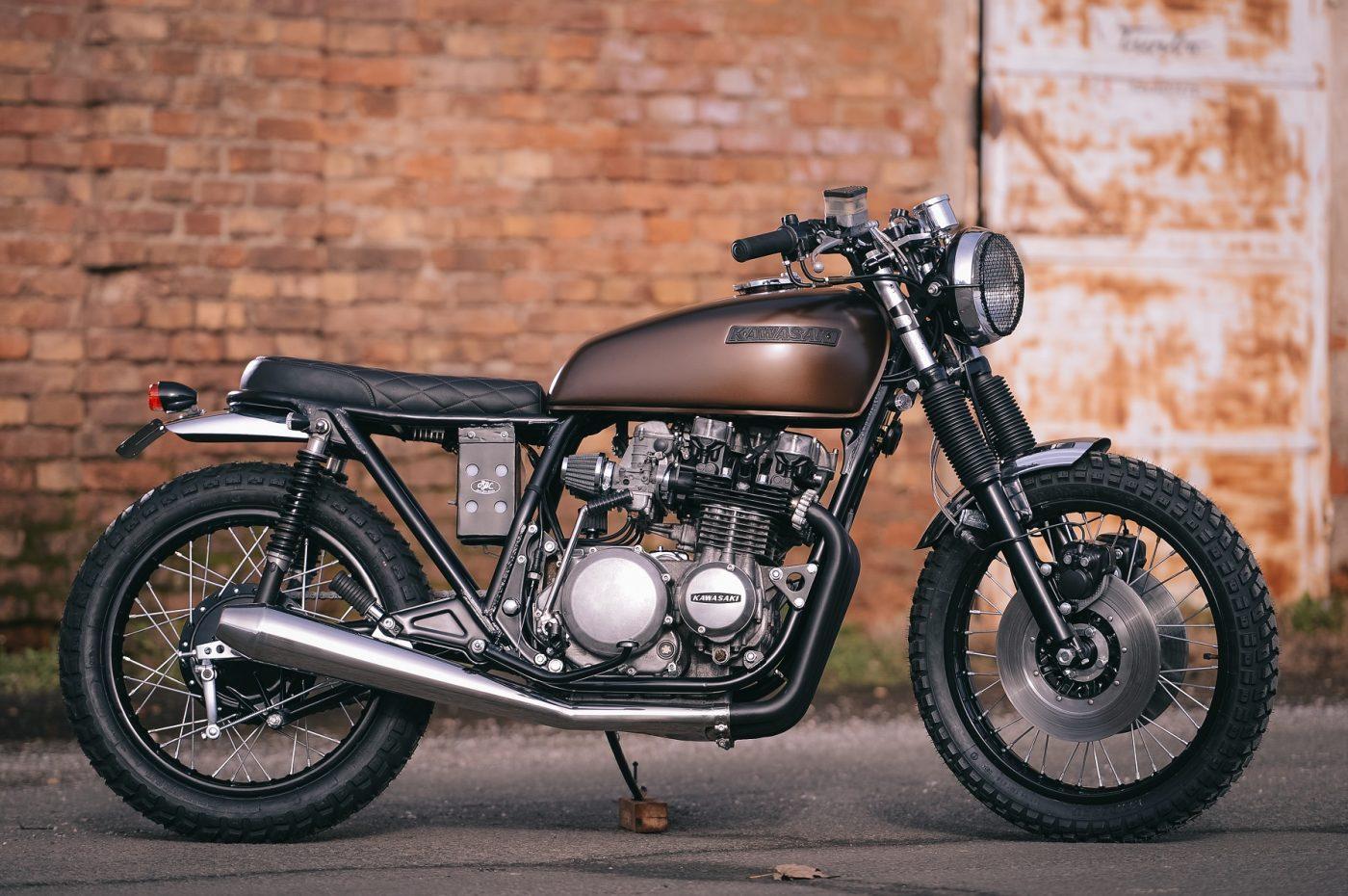 ϟ Hell Kustom ϟ: Kawasaki Z650 1977 By Retro Bikes Croatia