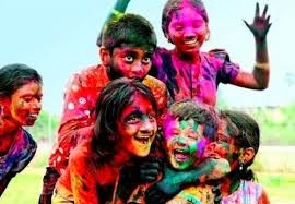 Holi Short Poems in Hindi Poetry for Kids Children