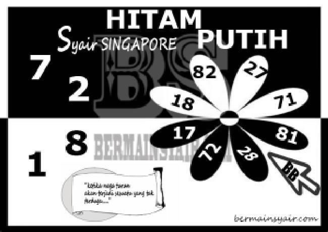 Kode syair Singapore Kamis 17 September 2020 272