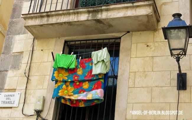 Barcelona: EL Born - Carrer del Triangle