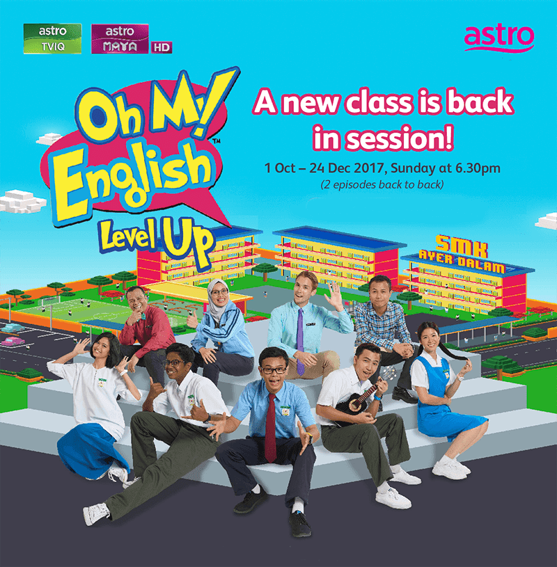 Program Oh My English! Level Up