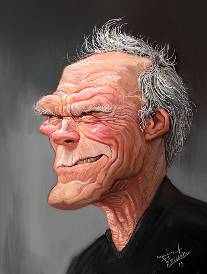 Clint Eastwood por Felixantos