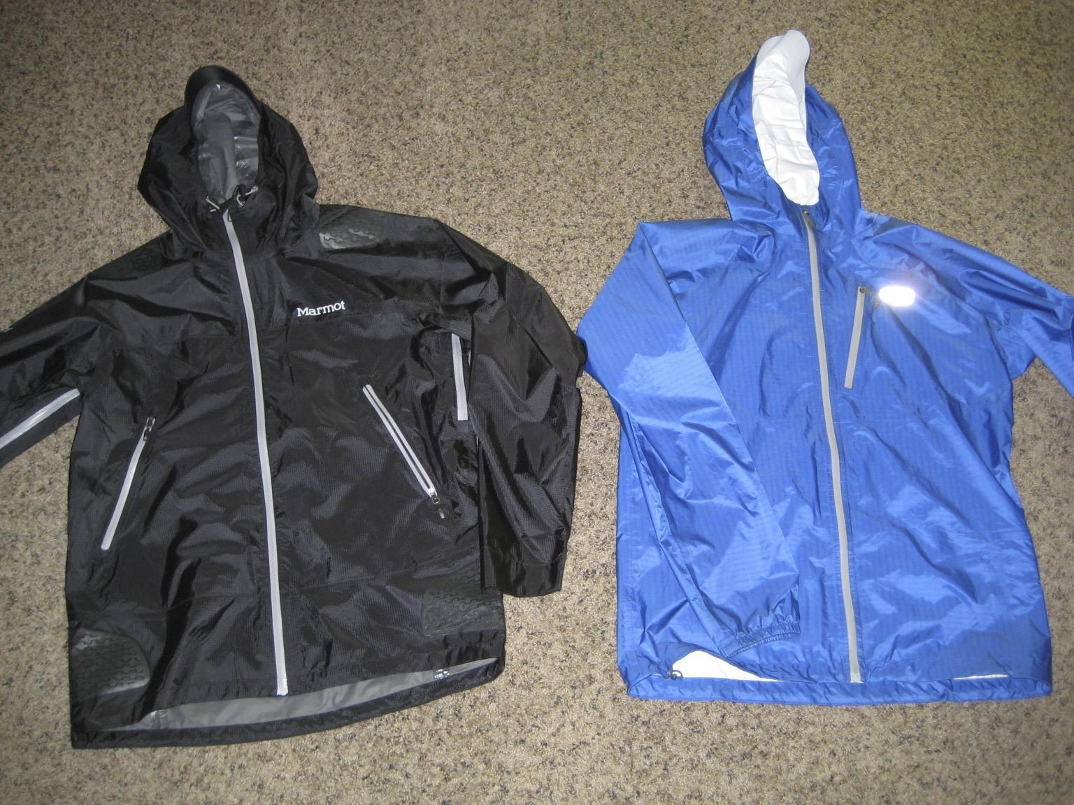 Gear 30  OR Helium vs Marmot Super Mica--Ultralight Rain Jacket Review 09e528098763