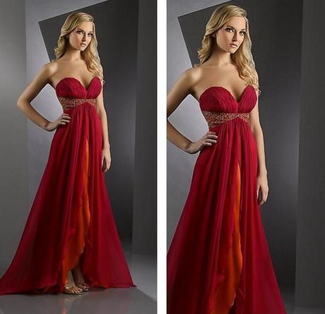 Vestido de moda rojo