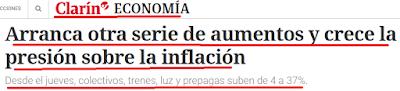 Ya anuncian un piso del 2 por ciento de inflación para febrero