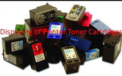 Disposing of Printer Toner Cartridges