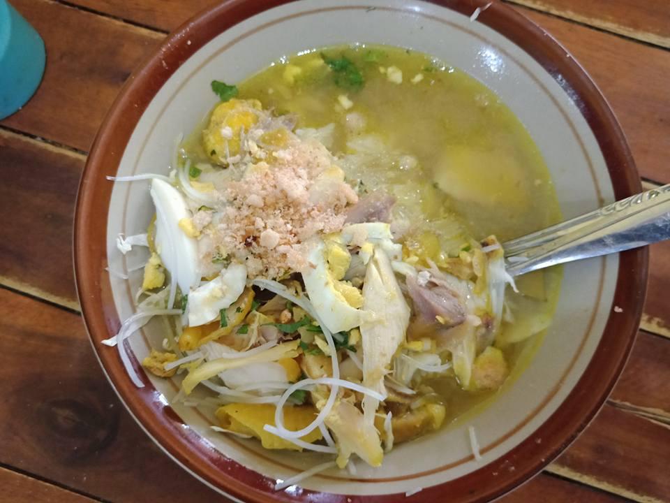 Soto Ayam Enak di Tuban Soto Cak Irfan