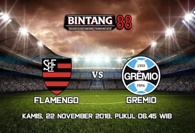 Prediksi Flamengo vs Gremio 22 November 2018