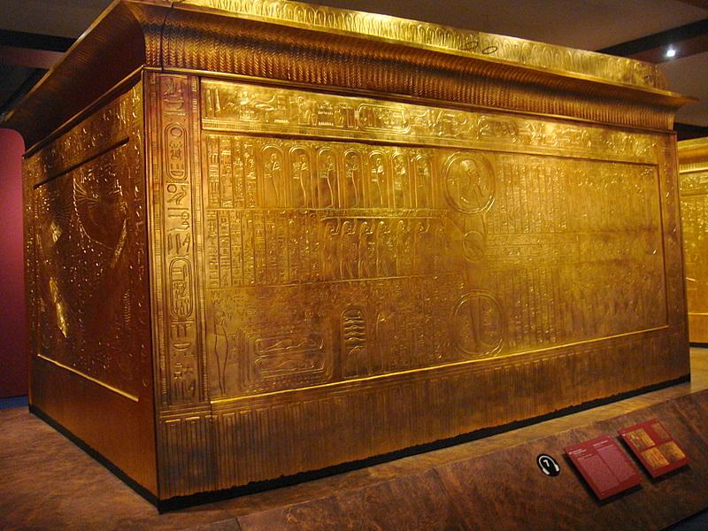 Yarnlot Toetanchamon in Brussel Tutankhamun in Brussels