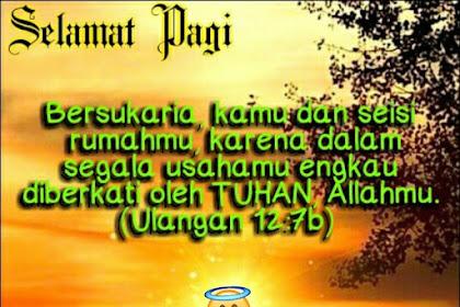 Status Wa Ucapan Selamat Pagi Islami