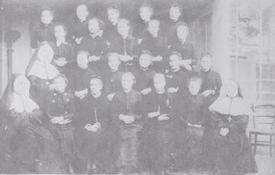 Pensionnat de Saint-Laurent-en-Brionnais, vers 1880 (collection musée)