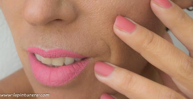 labial rosa