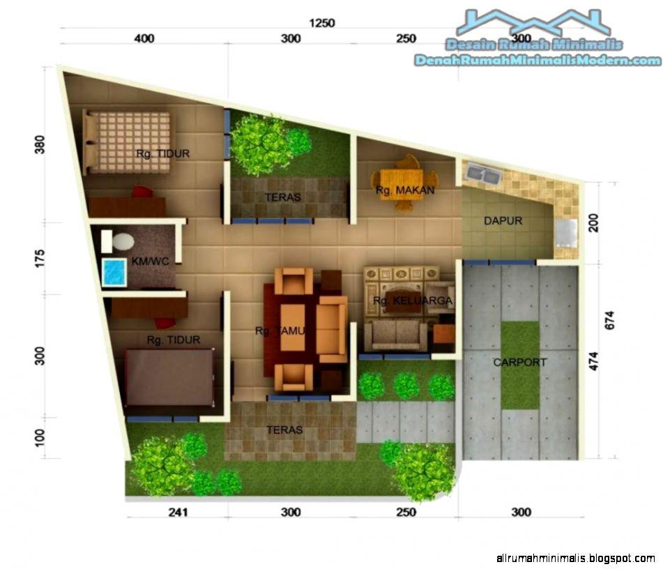 Gambar Denah Rumah  Minimalis Terbaru Design Rumah Minimalis