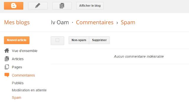 boite à spam