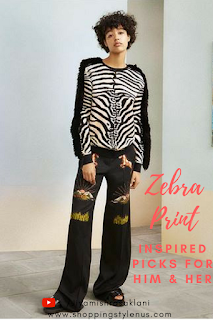 Shopping, Style & Us: India's Best Shopping and Self-Help Blog - Zebra Jacquard Sweater_Stella McCartney