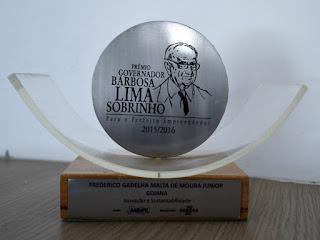 Fred Gadelha é vencedor do Prêmio Prefeito Empreendedor do Sebrae