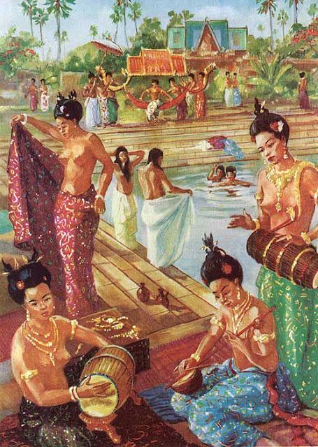 Le bain des favorites du roi, en musique.