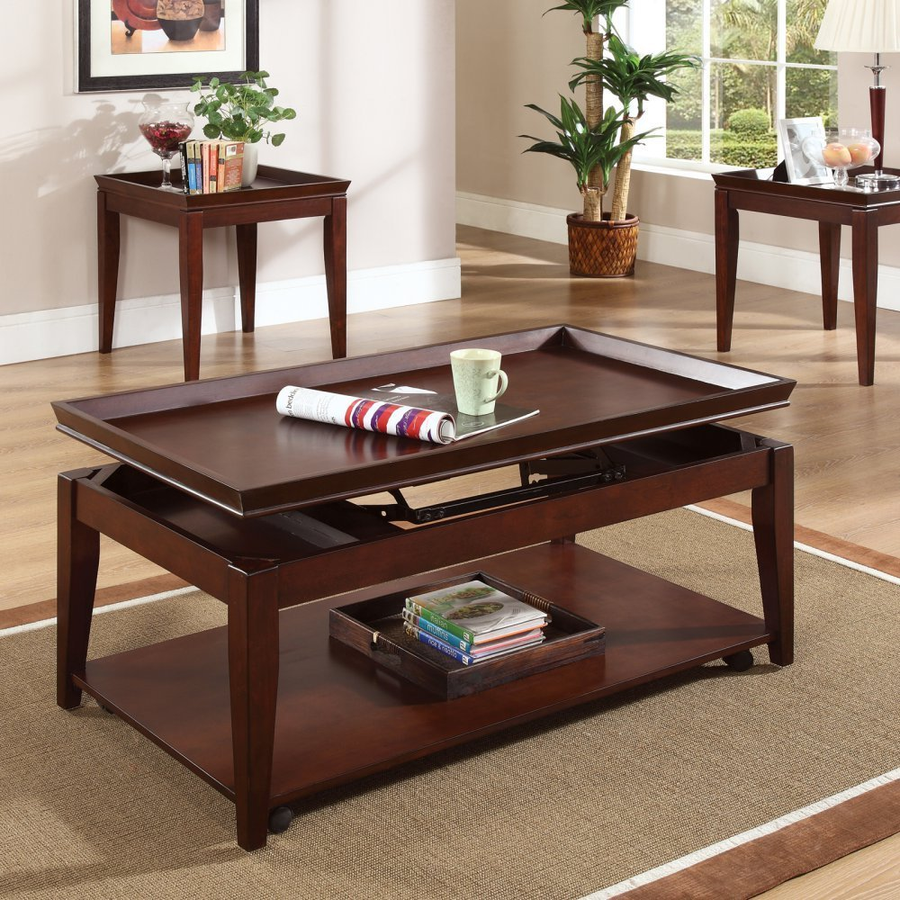 The perfect host on the spot coffee tables with lift up tops casters