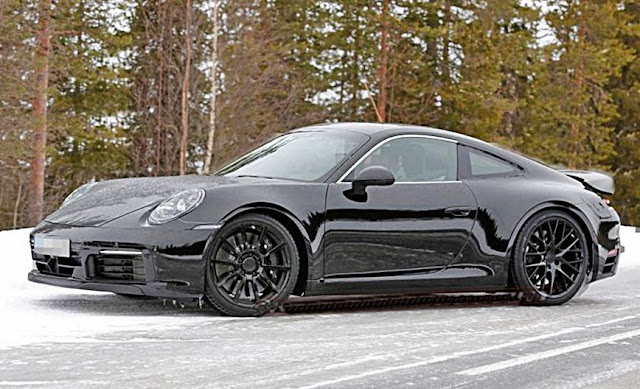 2020 Porsche 911 Coupe and Convertible Spied