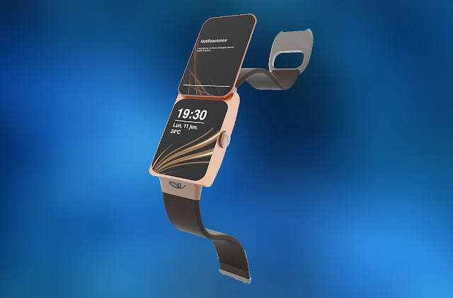 Nokia 7370 Watch | Updated Version Turned into Smartwatch