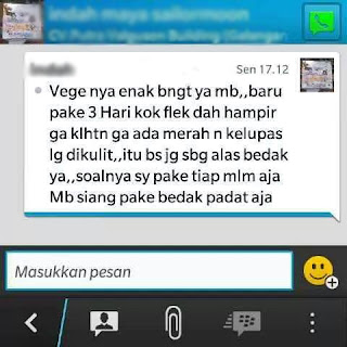 Testi Vege Herbal Cream FPD Day Cream
