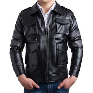 Gambar Jaket Kulit Domba untuk Pria