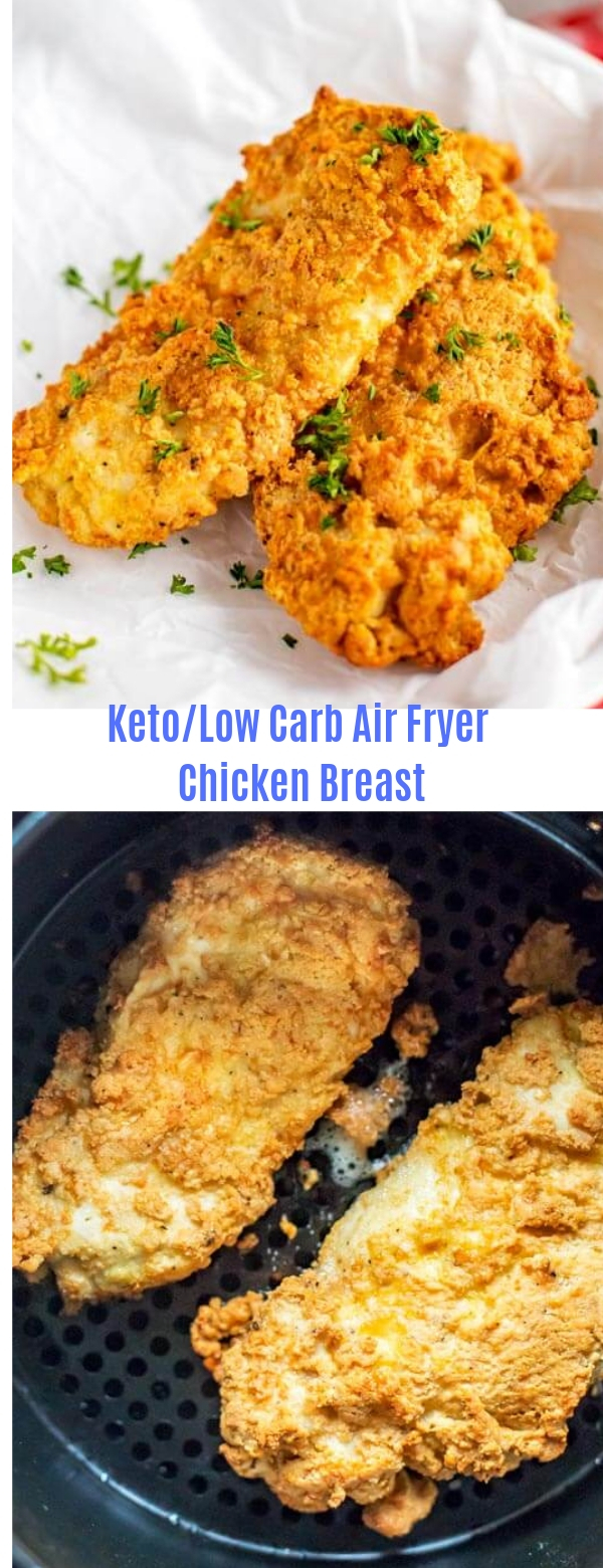 Keto/Low Carb Air Fryer Chicken Breast