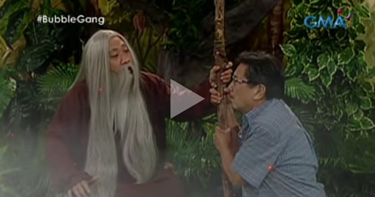 Tata Leo, a famous Batangueño visited the wise hermit, Tata Lino