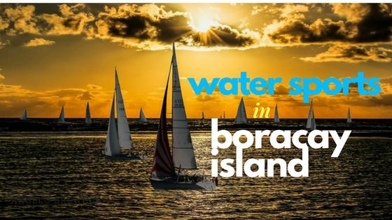 water sports in boracay island